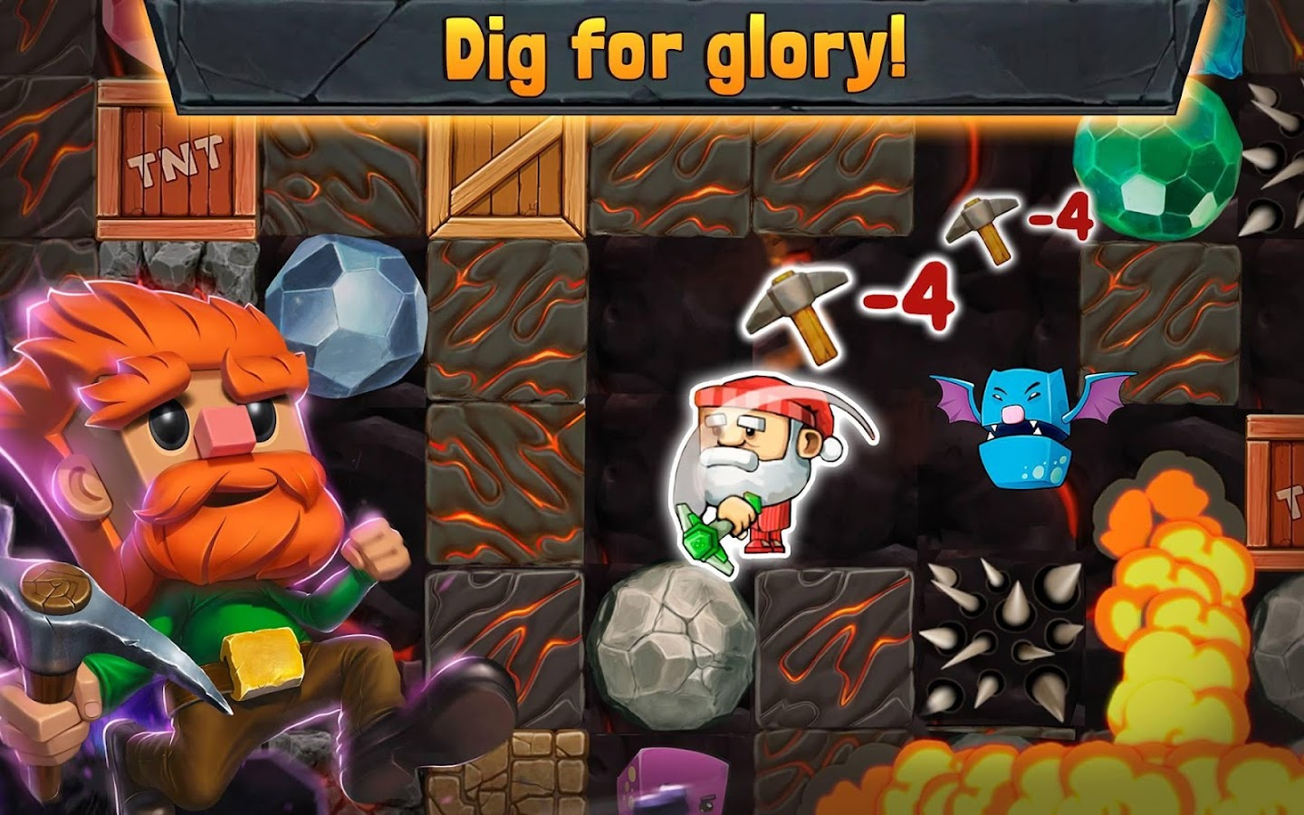Dig Out!- screenshot