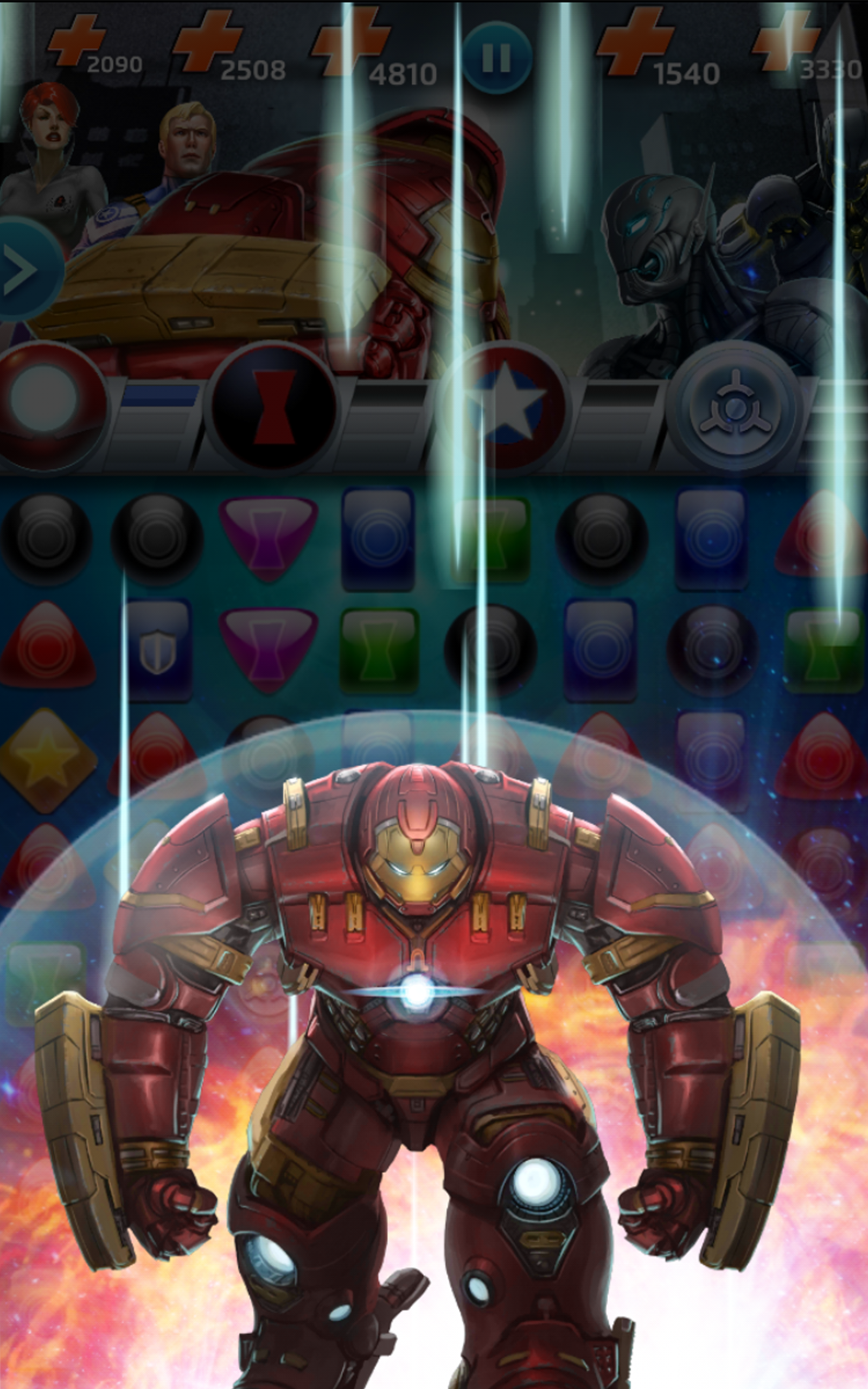 Marvel Puzzle Quest screenshot #12