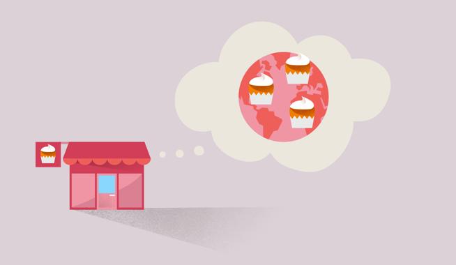 Lernen Sie, wie Sie Ihr  Geschäft international vermarkten