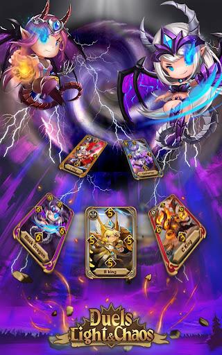 Code Triche Light & Chaos Duels:PvP Card Battles(CCG/TCG) mod apk screenshots 3