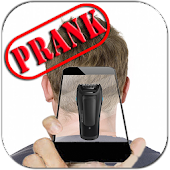 Real Razor Prank Hair Shaver