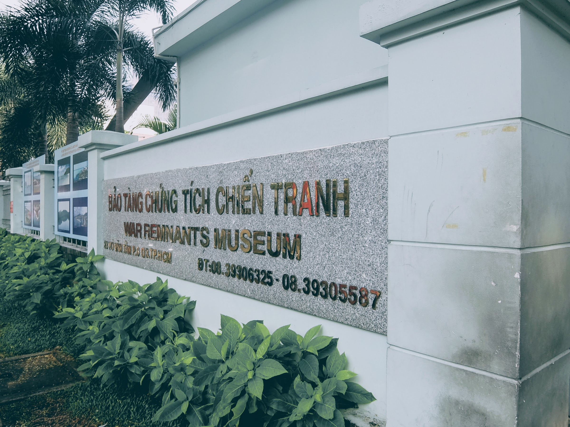 A day in Ho Chi Minh city - Visited the War Remnants Museum