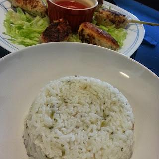 Gingers and Pandan Fragant Rice