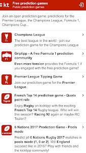 Kicktipp screenshot 1