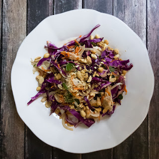 Chicken and Cabbage Salad with Fresh Mint