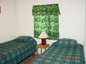 Photo: Cabins 1 & 2:  Two bedrooms & 1 full bathroom in each cabin.