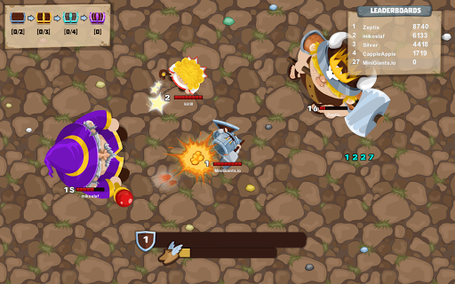 MiniGiants.io apktram screenshots 2