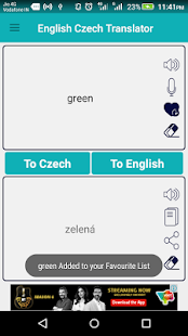 English Czech Translator apk screenshot 4