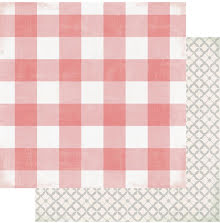 Heidi Swapp Magnolia Jane Double-Sided Cardstock 12X12 - Southern CottageUTGÅEND