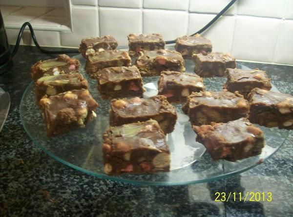 Rocky Raod Crunch Squares... Recipe