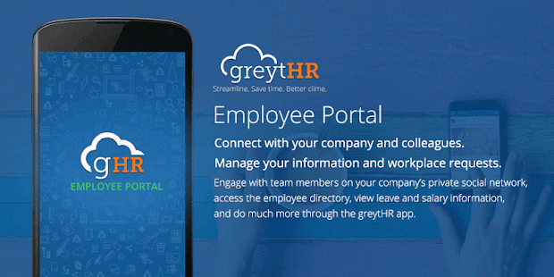 greytHR Employee Portal lets employees view their payroll or leave ...