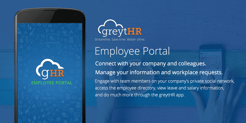 greytHR Employee Portal- screenshot