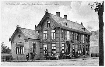 Photo: 1911 tramstation Haagpoort van de tram richting Princenhage