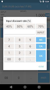 Shopping Calculator with tax - náhled