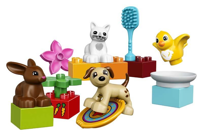 Contenido de Lego® 10838 Mascotas Familiares