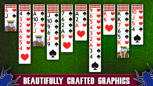 Spider Solitaire game (apk) free download for Android/PC/Windows screenshot
