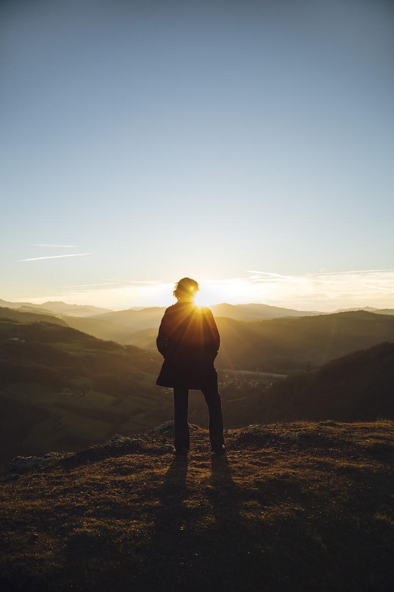 Viandante sul mare di nebbia Caspar David Friedrich di liberamenteinliberomondo