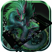 Supernatural Dragon Launcher Theme 3D