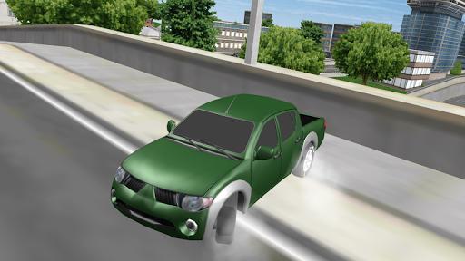 4x4 Truck City Driving