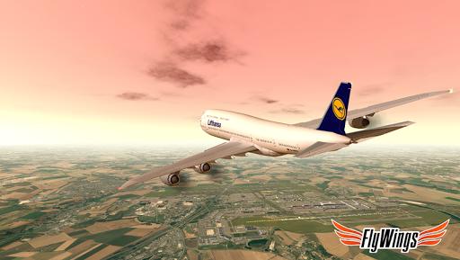 Flight Simulator 2015 Flywings - Paris and France apkpoly screenshots 17