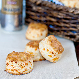Cheddar Cheese Biscuits with Buttermilk.