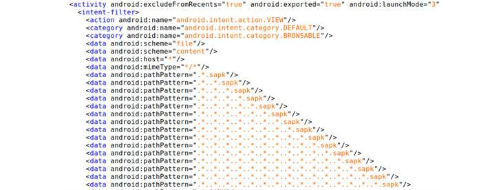 SHAREit hackeo de Android