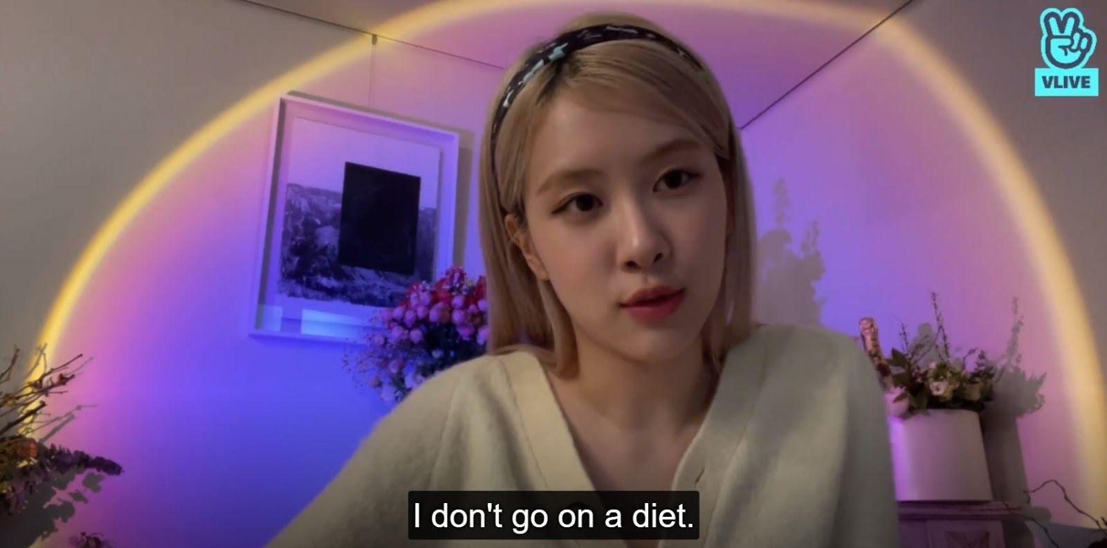 rose diet