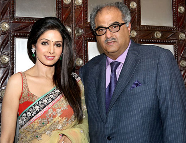 2. Sridevi and Boney Kapoor
