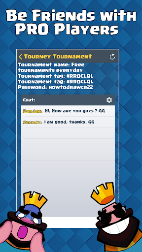 Open Tournaments: CR - Clash Royale for PC