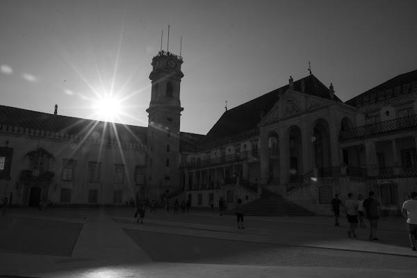 Coimbra Black and white  di valentina_mannella