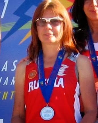 Photo: Rapid and short running carreer - 05 #WorldMastersAthleticChampionship podium, Silver medal