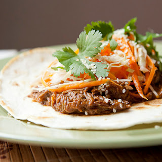 Slow Cooker Korean BBQ Tacos Recipe