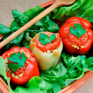 Cream Of Mushroom Stuffed Bell Peppers Recipes.