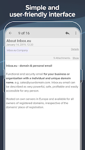 Inbox.eu – domain & personal email App Latest Version Download For Android and iPhone 4