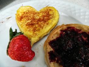Photo: Valentine's day breakfast