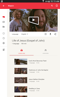 Jesus Film Project- screenshot thumbnail