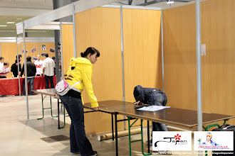 Photo: Installation des stands de la Japan Event le matin du Samedi 26 Mai 2012. Photo prise par notre équipe press. (Japan Event Chambéry 2012)