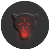Red-In-Black - icon pack
