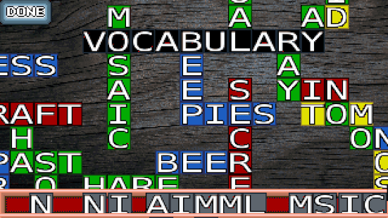 Vocabulary Mosaic- screenshot thumbnail