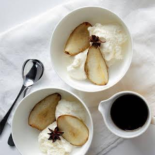 Roasted Spiced Pears.