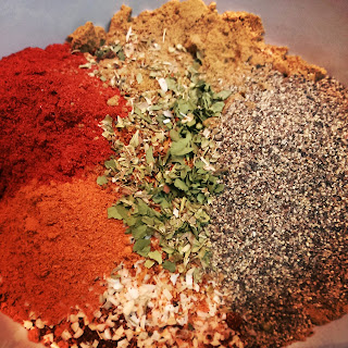Homemade Taco Seasoning with Penzeys Spices.