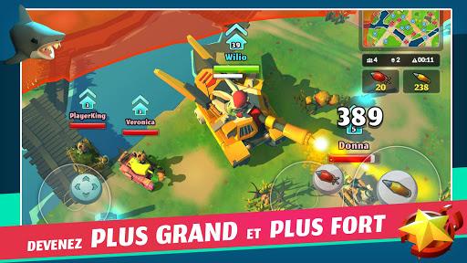 Télécharger gratuit PvPets: Tank Battle Royale APK MOD 2