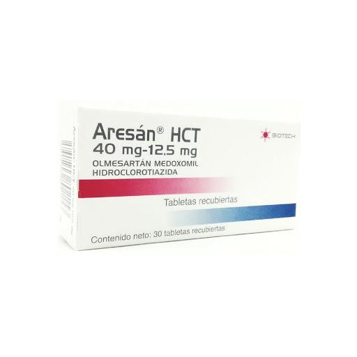 Olmesartan + Hidroclorotiazida Aresan HCT