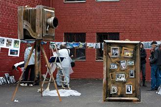 Photo: Экспромт выставки фоторабот под открытым небом...
