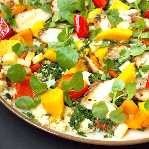 San Francisco Salad with Pepper Mint Infusion