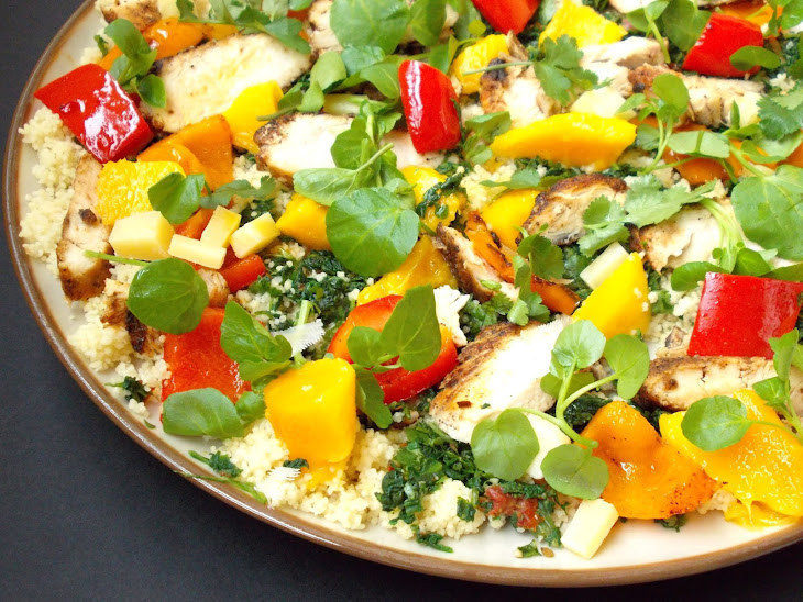 San Francisco Salad with Pepper Mint Infusion Recipe