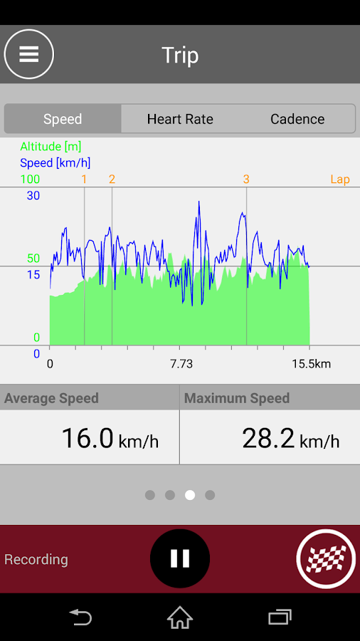 Cateye Cycling™- screenshot
