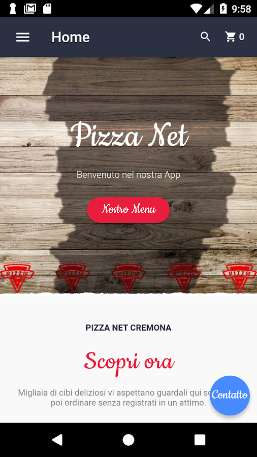 Pizza Net Cremona- screenshot