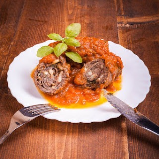 Italian Stuffed Beef Braciole Recipes