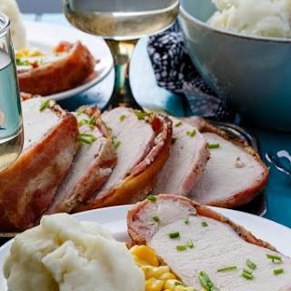 Slow Cooker Bacon-Wrapped Pork Loin Recipe